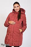 Теплая зимняя куртка для беременных Jena OW-46.092 (Размер L, XL), фото 3