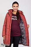 Теплая зимняя куртка для беременных Jena OW-46.092 (Размер L, XL), фото 5