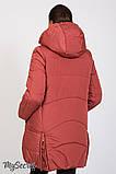Теплая зимняя куртка для беременных Jena OW-46.092 (Размер L, XL), фото 6