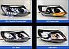 Передние фары Led тюнинг оптика VW Tiguan 2012+ оригинальный стиль ксенон, фото 2