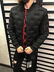 Мужская демисезонная куртка (черная) - Турция, фото 3