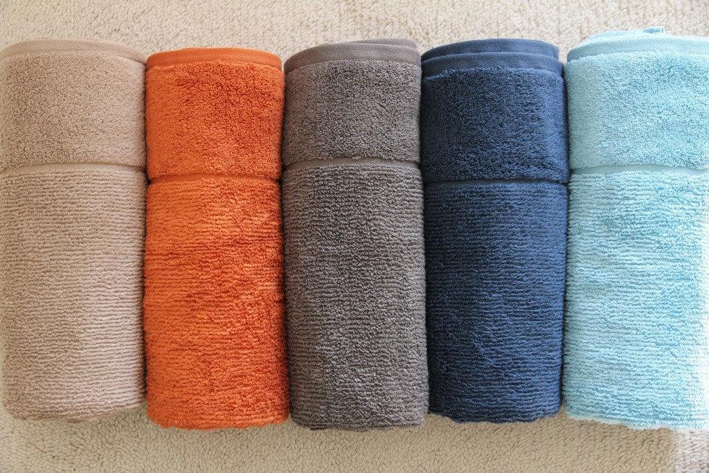 Полотенце махровое, разные цвета, 70*140, TerryLux SPA