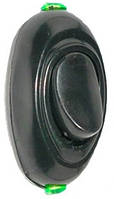 Выключатель для торшеров и бра чёрный 4А 220В