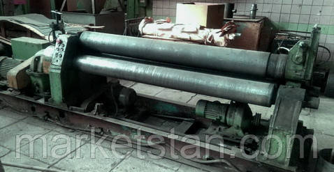 И2220 (10х2000 мм) Машина листогибочная трехвалковая (вальцы)