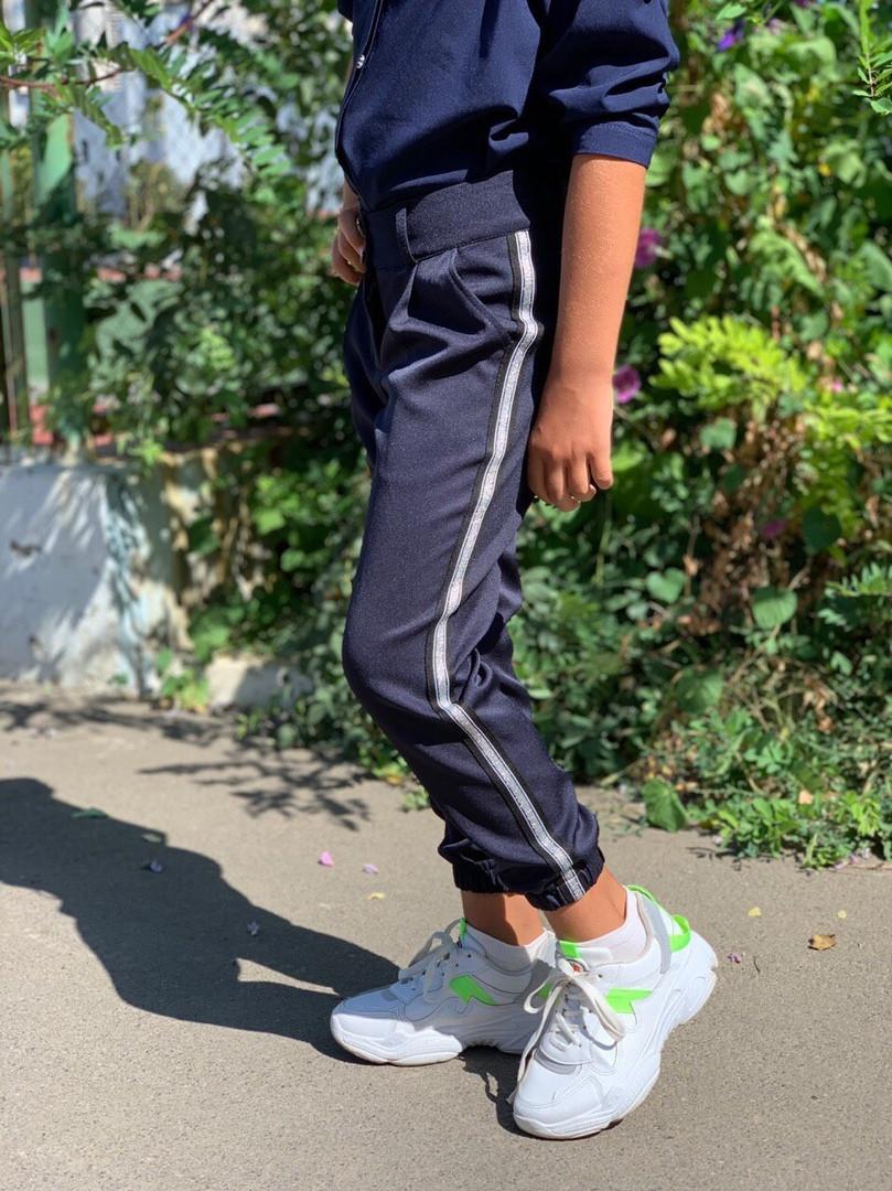 Модные брюки джоггеры для девочки