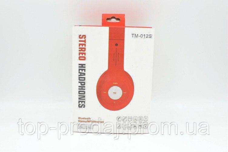 Наушники TM012, Складные беспроводные наушники, Наушники с функцией гарнитуры, Блютуз наушники накладные