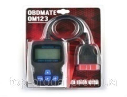 OBD сканер OM123, Автомобильный сканер для диагностики, Диагностический Автосканер, Автодиагностика