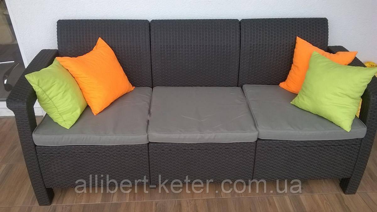 Мебельная гарнитура Corfu Love Seat Max Allibert Keter Curver