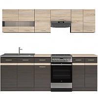 Кухня 230 Junona Black Red White 230хx (K_JUNONA_230) 034868