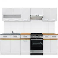 Кухня 230 Junona Black Red White 230хx (K_JUNONA_230) 034876