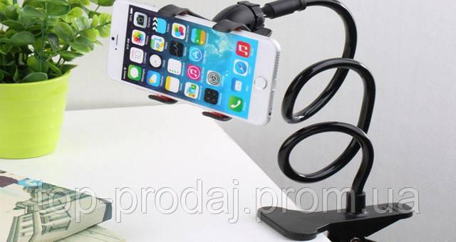 Универсальный держатель для телефона с прищепкой, Гибкий телефонный держатель, Держатель для мини камер