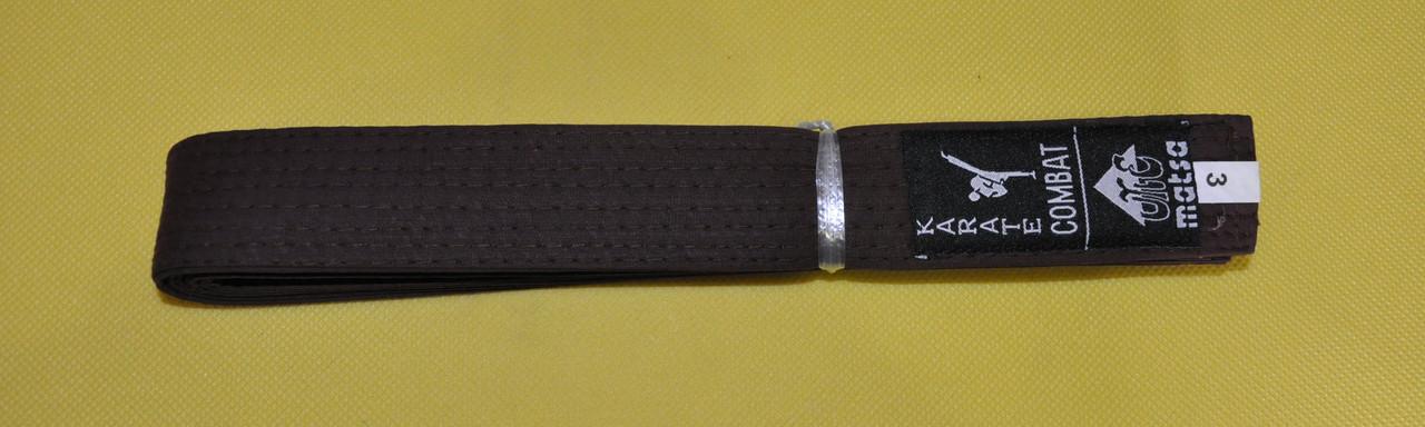 Пояс до кімоно MATSA коричневий MA-0040-BR(3)