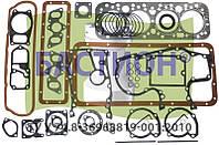 Набор прокладок двигателя ЮМЗ Д-65 (полный + РТИ)