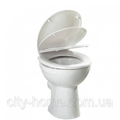 Крышка для WC с автоматическим опусканием  c креплением нерж сталь , фото 2