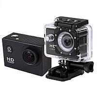 Аction camera D600, Мини видеокамера, Экшн-камера, Камера Full HD влагостойкая, Спортивная камера