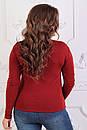 Гольф женский теплый удобный,не рястягивается  батал 54-58 №287-17, фото 3