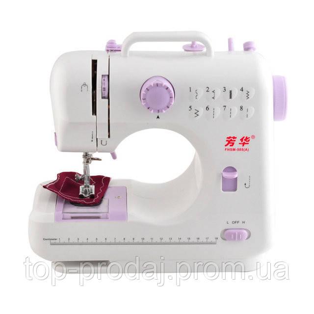 Швейная машинка SEWING MACHINE 505. Машинка бытовая для шитья, Портативная швейная машинка с ножным приводом