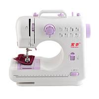 Швейная машинка SEWING MACHINE 505. Машинка бытовая для шитья, Портативная швейная машинка с ножным приводом, фото 1
