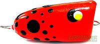 Поппер для ловли краснопёрки 2g 35mm красный