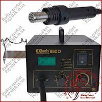 Термовоздушный фен - паяльная станция HandsKit 850D (фен с дисплеем)