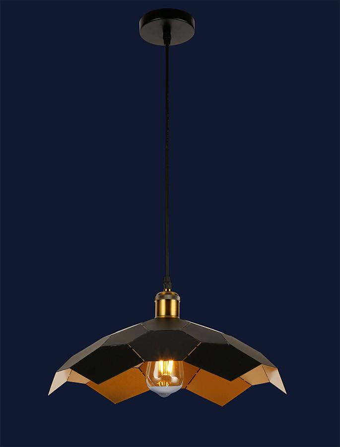 Красивый подвесной светильник 7526653-1 BK