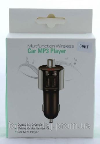 Трансмитер FM MOD. G9 BT, Модулятор с пультом управления, Модулятор в машину, Автомобильный проигрыватель