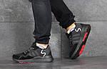 Мужские кроссовки Adidas Nite Jogger Boost (черные), фото 2