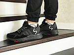 Мужские кроссовки Adidas Nite Jogger Boost (черные), фото 3