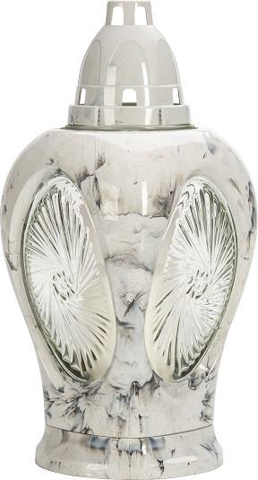 Лампион белый Bispol 27 см 2 дня(4044-090)