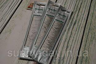 Мулине Madeira Metallic №4, цвет - 4000