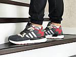 Мужские кроссовки Adidas Nite Jogger Boost (серо-красные), фото 3