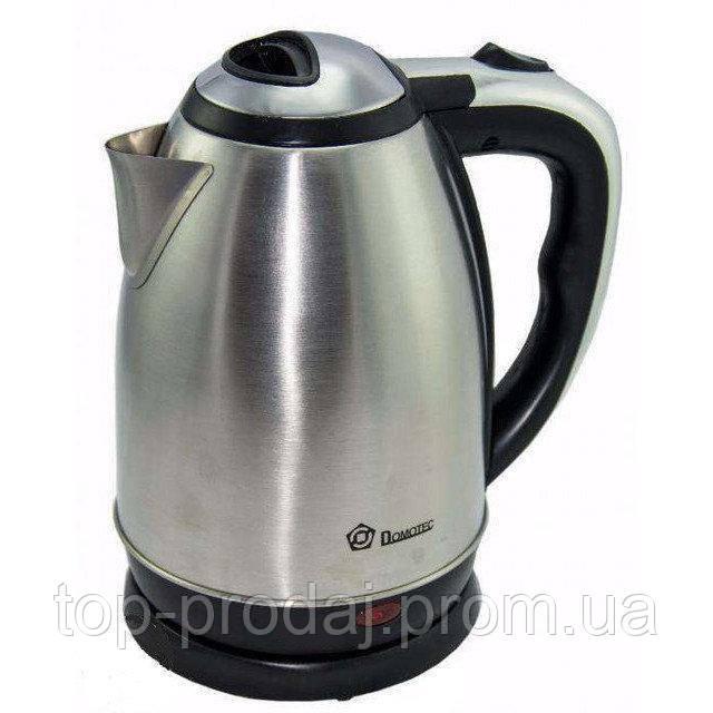 Электрочайник GRANT DT-0418, Электрический чайник, Чайник для дома, Чайник 2 литра дисковый