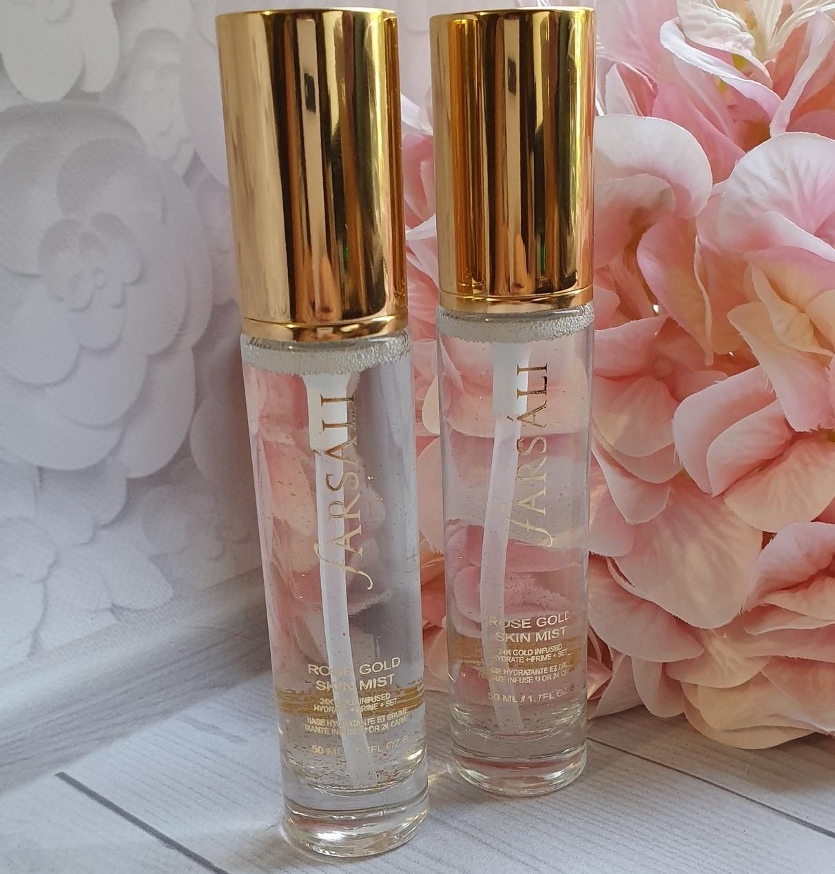 Спрей-мист для лица FARSALI Rose Gold 24K Skin Mist (фиксация макияжа, праймер и увлажнение) 50 мл