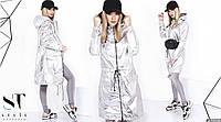 Стильная ветровка - пальто с капюшоном