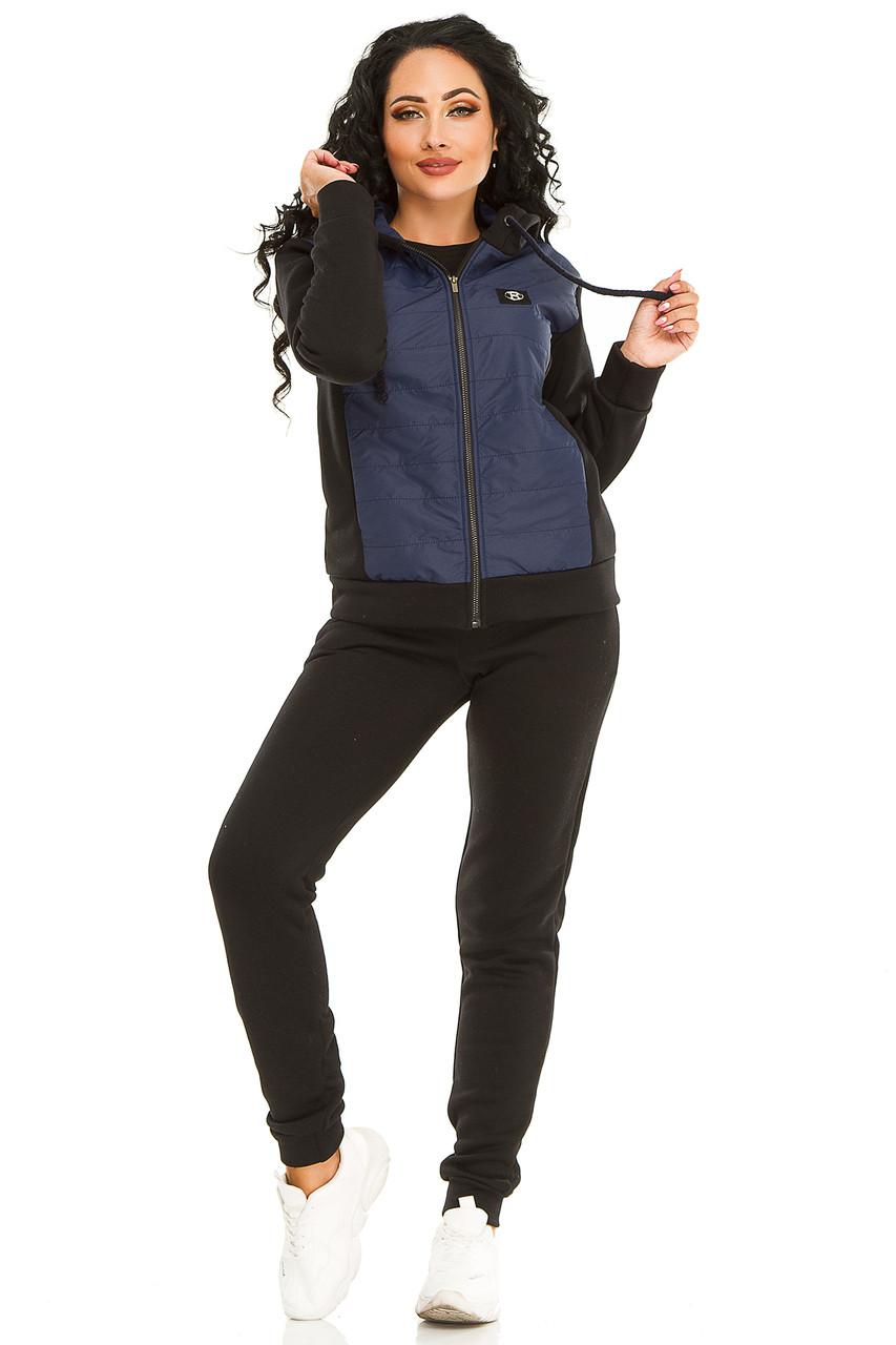 Женская спортивный костюм 731 темно-синий