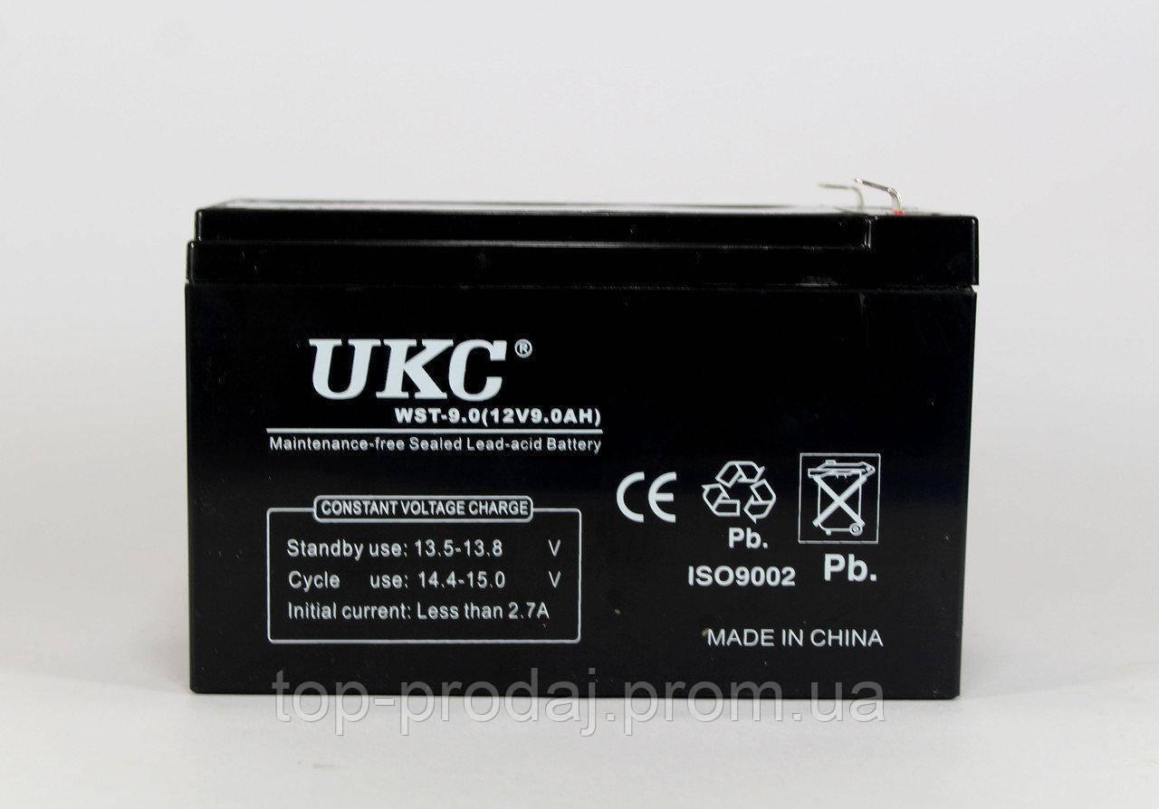 Аккумулятор BATTERY 12V 9A UKC,Герметичный аккумулятор, Кислотно-свинцовый аккумулятор, Аккумуляторная батарея