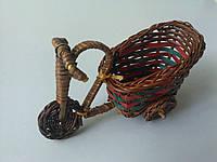 Велосипед из лозы 15,5