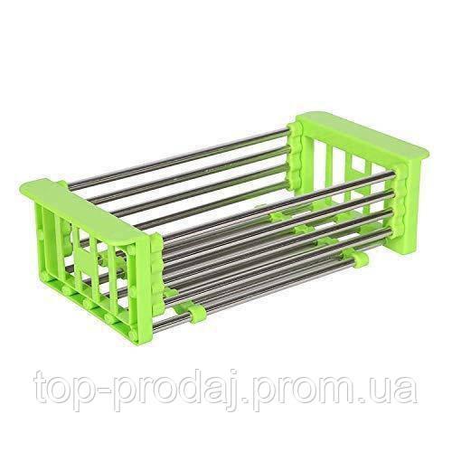 Многофункциональная Складная Кухонная Полка Kitchen Drain Shelf Rack, Кухонный стеллаж для хранения, Сушилка