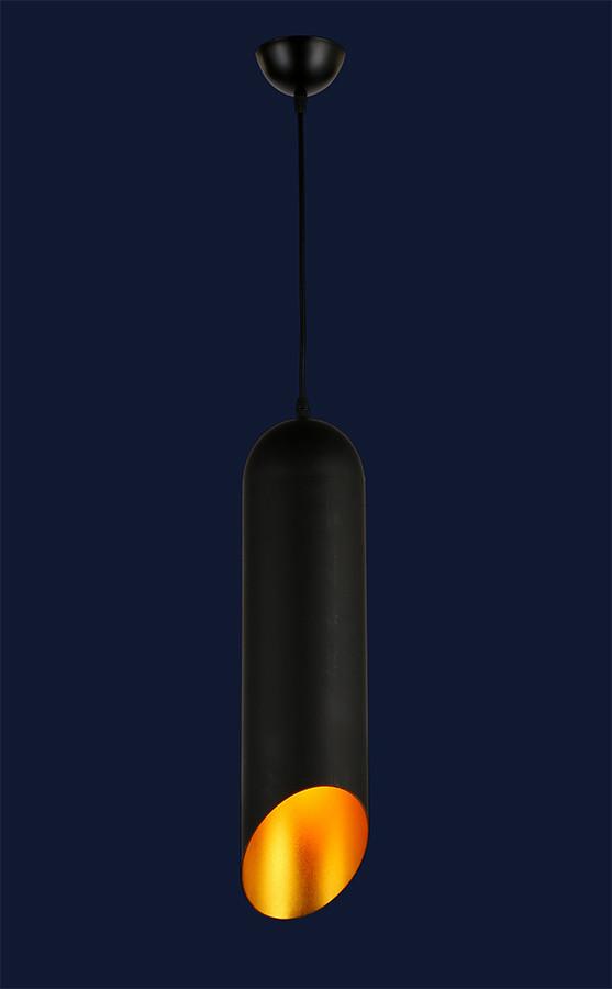 Підвісний світильник спрямованого світла 7546480-1 BK+GD