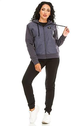 Женская спортивный костюм 731 джинс, фото 2