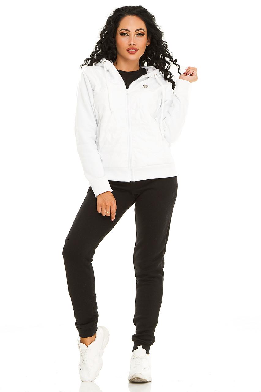 Женская спортивный костюм 731 белый