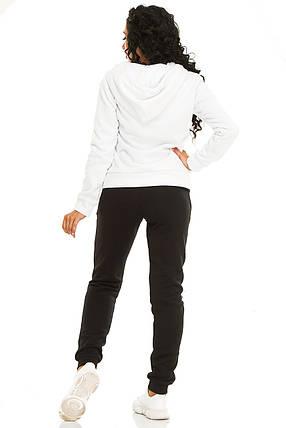 Женская спортивный костюм 731 белый, фото 2