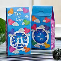 """Чай любимым в подарочной упаковке """"For love"""" 50 г"""