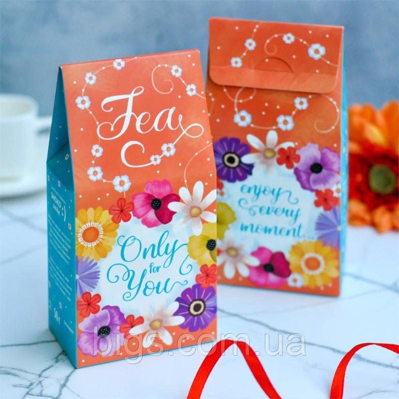 """Чай для тебя в подарочной упаковке """"Only for you"""" 50 г"""