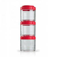 Контейнер спортивный BlenderBottle GoStak 3 Pak Red, Original R145328