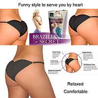 """Трусики женские """"Brazilian Secret"""" + моделирующий эффект"""