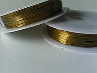 Проволока 0,3 мм золото
