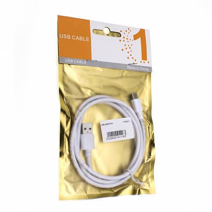 Кабель Griffin USB Type-C (White), фото 2