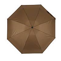 """Женский механический мини-зонт Flagman """"Малютка"""", коричневый, 704-12"""