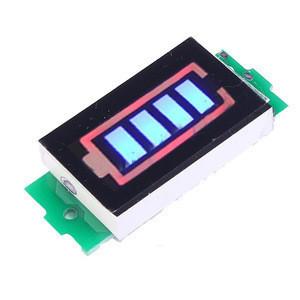Индикатор уровня заряда батареи 1S Li-ion, 18650, 3.7В